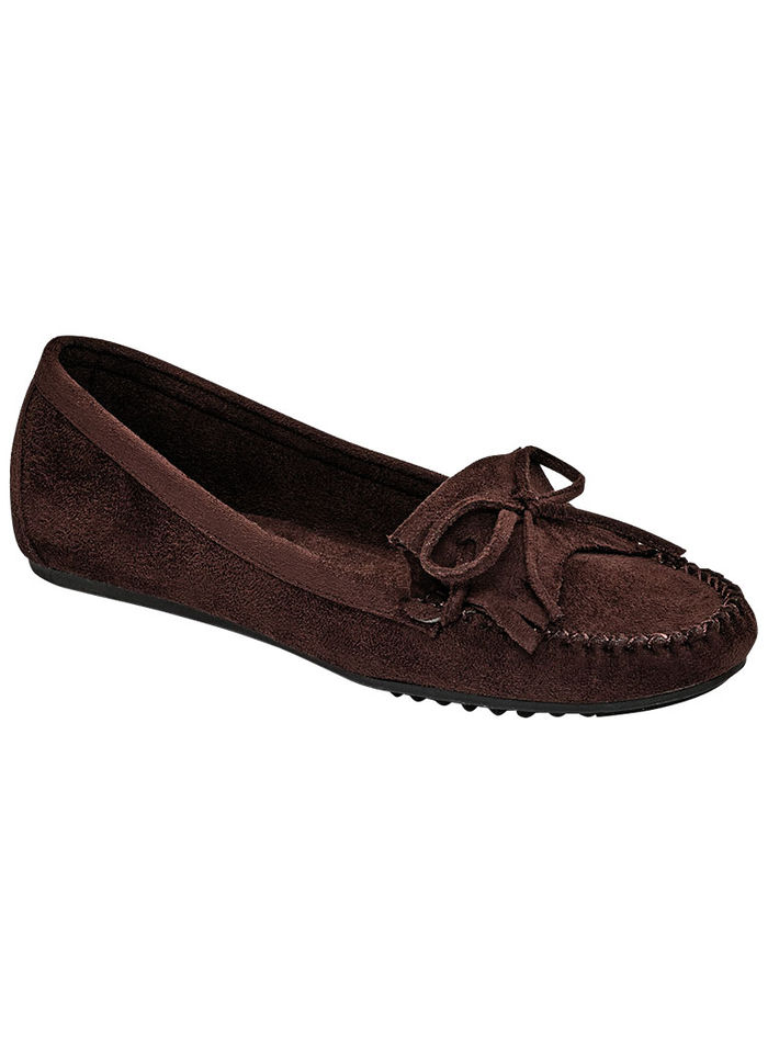 Charity Moccasin Slip-on