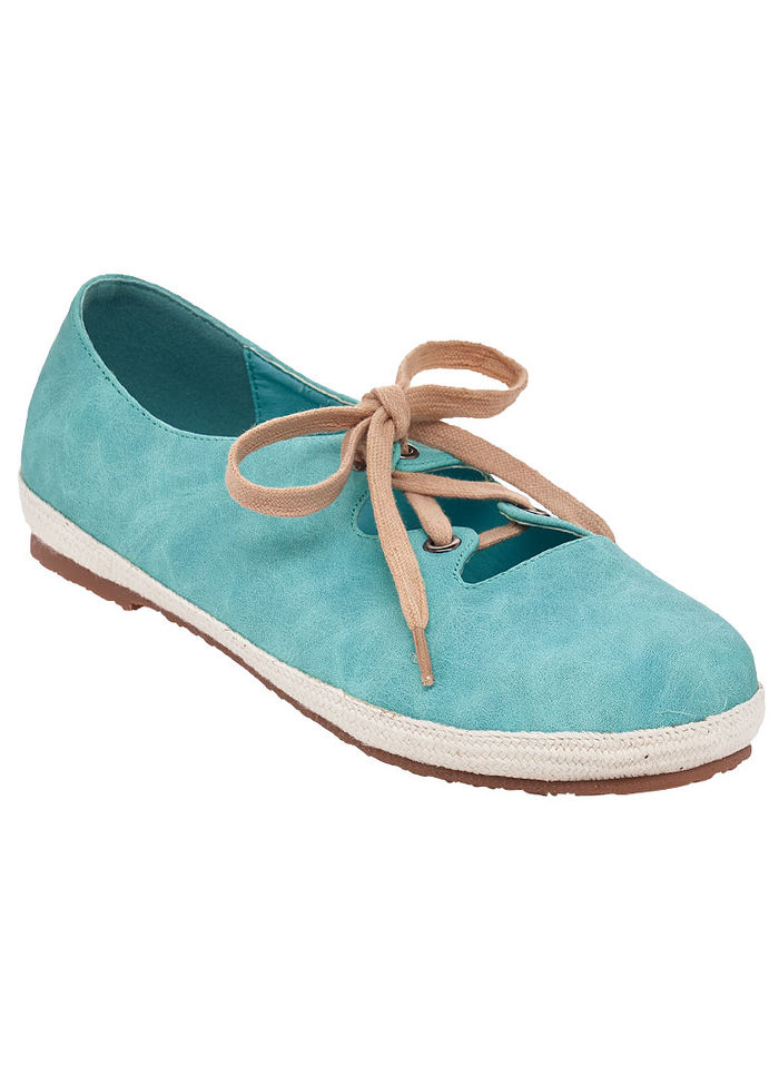 Sofwear® by Beacon Nadia Espadrille Lace-up Shoe