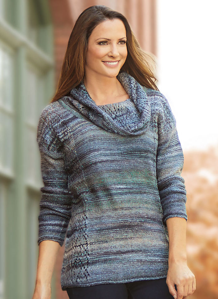 Sophia Cowl Neck Sweater
