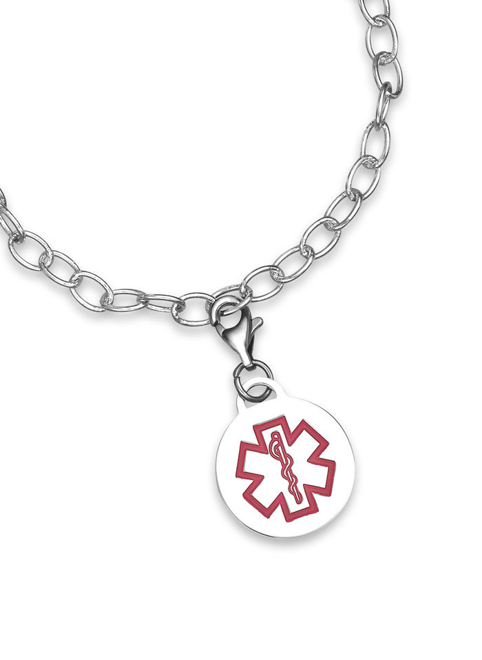 Medical id charms amerimark online catalog shopping for womens medical id charms mozeypictures Image collections