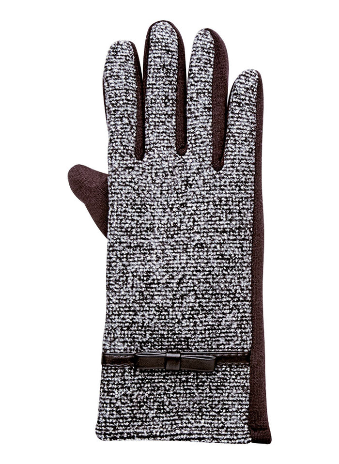 Two-Tone Texting Gloves